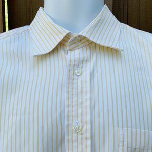 Burberry London Lightweight Striped Dress Shirt.